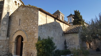 Capella romànica de Sant Cugat (o de Sant Esteve)