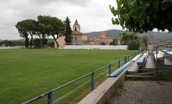 El campus es farà al camp de gespa natural de Sant Pere Molanta