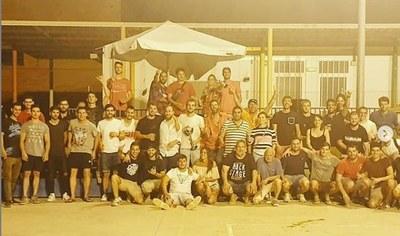Després de la final i del lliurament de premis es va fer sopar de germanor(foto: Grup de Joves)