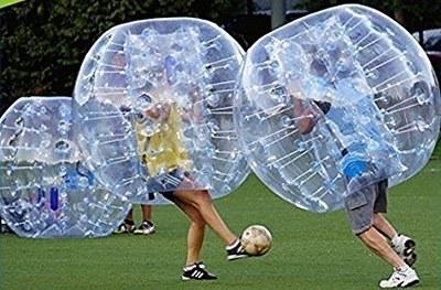 """""""Bubble Futbol"""" i triangular de futbol sala aquest dissabte en l'inici de la FM de Can Trabal"""