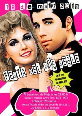 """""""Festa del Mig Segle"""" aquest dissabte a la nit al Local Nou de Moja"""