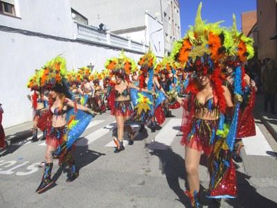 """""""Moja en erupció"""" s'acomiada del Carnaval amb la satisfacció d'haver contagiat alegria"""