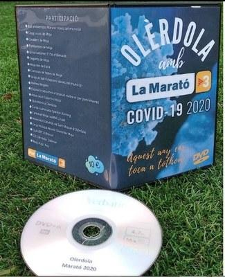 """""""Olèrdola amb La Marató"""" posa a la venda un dvd solidari que recull actuacions i missatges d'entitats del municipi"""