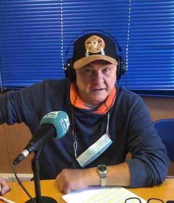 Fran Colom, productor i conductor del programa