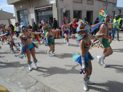 """""""Tots per un"""" de Sant Miquel tanca el Carnaval satisfets per les reaccions que han rebut"""