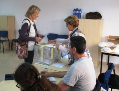 A les eleccions municipals a Olèrdola ja havien votat el 58'6% del cens a les 18:00h, 10 punts més que fa quatre anys