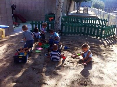 El servei d'escola bressol s'ha traslladat a l'escola Rossend Montané