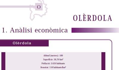 A Olèrdola disminueix l'atur i no hi ha pèrdua de població