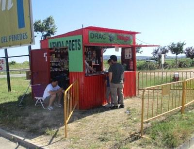A Olèrdola hi ha 3 casetes autoritzades de venda de productes pirotècnics