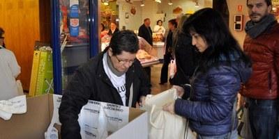 A Olèrdola també es pot participar en el Gran Recapte d'Aliments