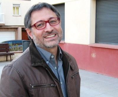 Xavier Serramià, regidor de TIC de l'Ajuntament d'Olèrdola