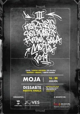 A partir d'aquest dimarts 8 equips es disputen el 3r Torneig Solidari de futbol sala de Moja