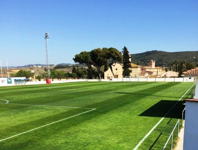 Imatge recent del camp (foto:CFP Sant Pere Molanta)