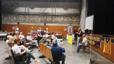 ERC d'Olèrdola recorda la figura de Junqueras i la resta de presos i exiliats amb l'acte de presentació del llibre  de Sergi Sol