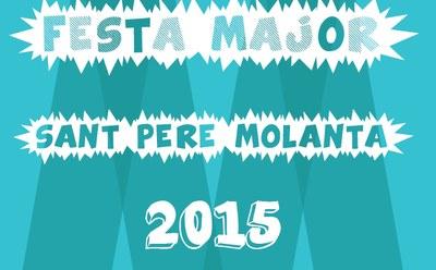 Actes previs de la Festa Major de Sant Pere Molanta, des d'aquest dissabte i fins dimecres