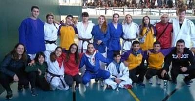 Adrià Pèrez, Júlia Queraltó i Irene Romero, del Judo Olèrdola, s'han proclamat campions de Catalunya en categoria cadet