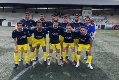 L'AE Moja empatava (1-1) la setmana passada al camp de la FE AT.Vilafranca