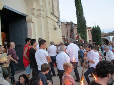 Àgil processó de Sant Jaume en l'any de la seva estrena