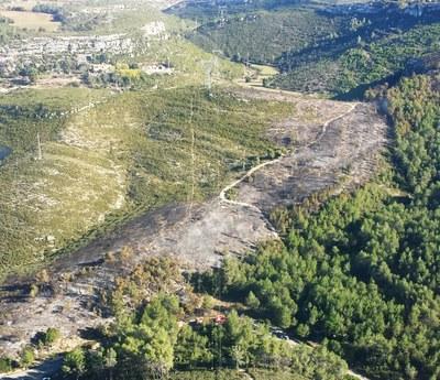 Agraïment públic de l'Ajuntament per la ràpida intervenció en el foc del Fondo de la Seguera