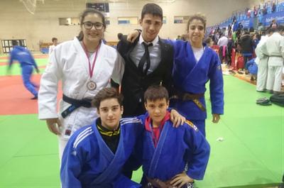 Aina Cornellà assoleix la plata en la Copa d'Espanya de judo en categoria cadet