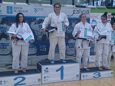 Aina Cornellà, del Judo Olèrdola, guanya a Vigo la Super Copa d'Espanya en categoria cadet
