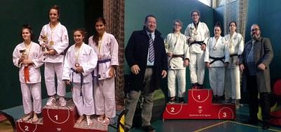 Aina Cornellà i Irene Romero, campiones de Catalunya de judo