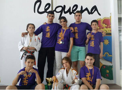 Aira Lázaro, del Judo Olèrdola, medalla d'or en la Copa Espanya de categoria aleví