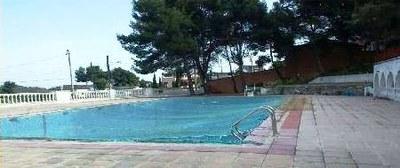 Ajuntament i Àrea de Cultura treballen en una proposta d'arranjament de la piscina de Can Trabal