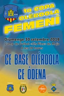 Ajuntament i Base Olèrdola confien que la Copa Olèrdola femenina comptarà amb un ampli seguiment