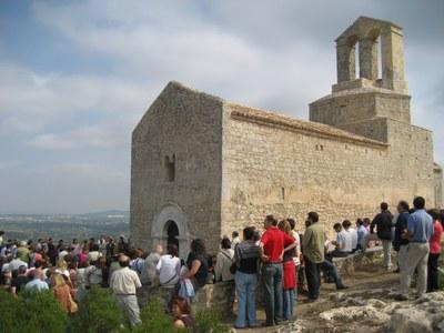 Treball conjunt de l'Ajuntament i institucions de la comarca pel castell d'Olèrdola