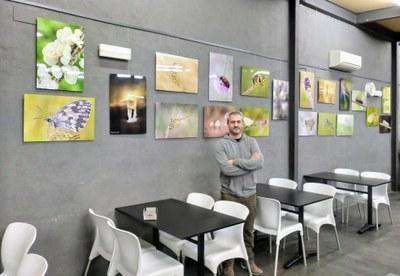 Al bar del Local Nou de Moja s'exposa una mostra fotogràfica de Pep Casadevall