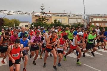 """Alejandro Nogales i Henar Etxebarria guanyen la 20a cursa de muntanya """"Pujada al Castell d'Olèrdola"""""""