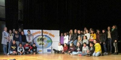 Alumnes de Polònia, Xipre i d'Itàlia participen aquesta setmana en un intercanvi a l'escola Circell de Moja dins del projecte Erasmus