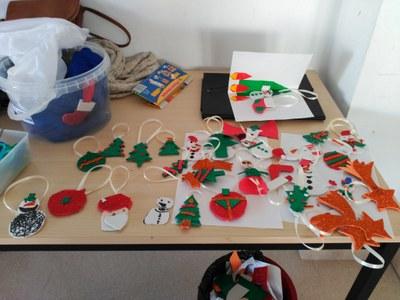 Ampli seguiment dels tallers de Nadal que ha organitzat l'Ajuntament d'Olèrdola
