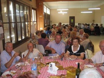 Animació i bon ambient en la celebració de les revetlles al Casal d'Avis de Moja