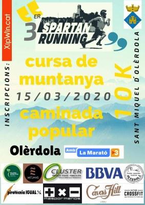 Anul·lada l'Spartan Running d'aquest diumenge a causa del coronavirus