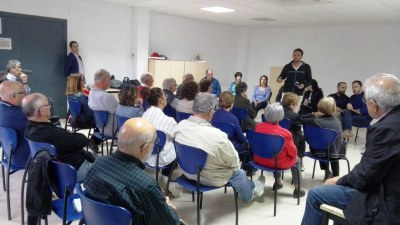 ApO proposa obrir un nou carrer a Sant Pere Molanta per poder ampliar el pati i cobrir la pista