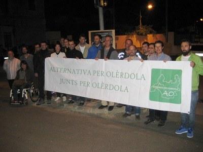 """ApO subratlla la seva renovació i es presenta amb el lema """"L'alternativa de futur"""""""