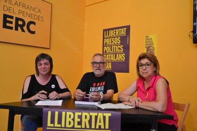 Aposta d'ERC pel transport públic entre els polígons de Vilafranca, Olèrdola i els Monjos