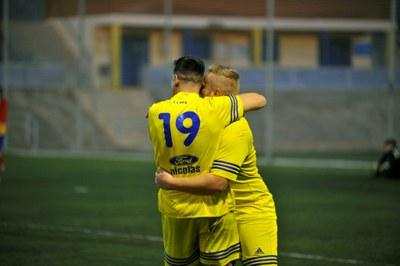 Aquest cap de setmana tornen els partits de futbol al camp municipal Els Pins de Moja
