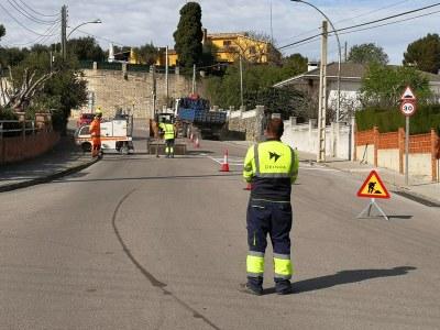 Aquest dijous i divendres s'instal·len reductors de velocitat a Can Trabal i al poble i al polígon de Sant Pere Molanta