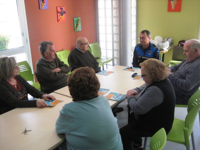 Aquest dijous s'ha programat un taller sobre seguretat vial per a gent gran a Sant Pere Molanta