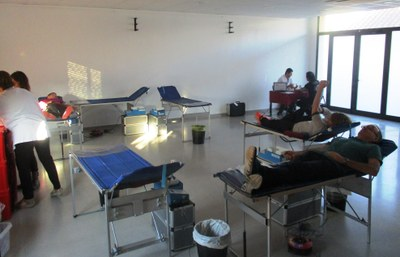 Aquest dijous s'han recollit 21 donacions de sang a Moja