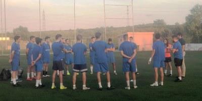 Aquest dilluns l'AE Moja ha començat la pretemporada sota les ordres de la nova entrenadora, Luri Sorroche
