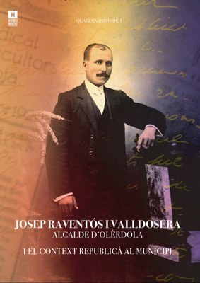 Aquest dimarts es presenta a Sant Pere Molanta el llibre dedicat a Josep Raventós Valldosera