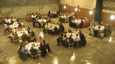 El Local Nou, tornar a acollir un sopar. (imatge d'arxiu)