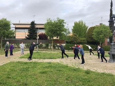 Aquest dimecres s'han reprès les classes de gimnàstica per a gent gran a Moja