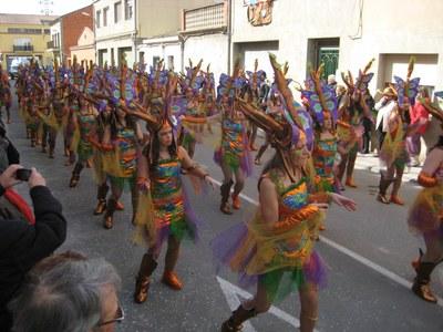 Aquest dissabte al vespre 11 carrosses i 4 comparses protagonitzaran la 12a Rua de Carnaval de Moja