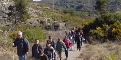 """Aquest dissabte al vespre es programa la ruta  """"Olèrdola, una muntanya d'històries"""""""