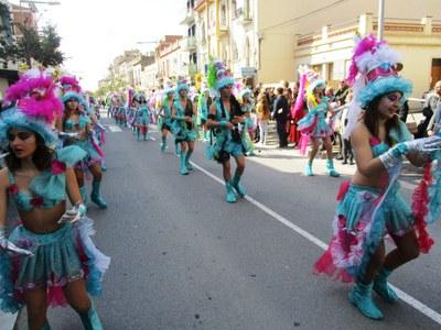 Aquest dissabte al vespre la Rua de Carnaval de Moja comptarà amb 11 carrosses i 3 comparses